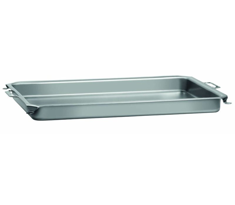 Bartscher Table for Pan Roast Grill | Sheet | With Handles | 870x525x (H) 65mm