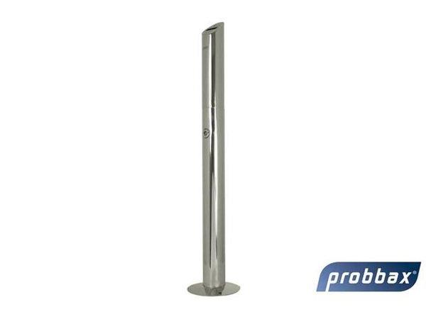 XXLselect Peuk Säule   Edelstahl poliert   1,4 Liter   Bis zu 420 Kippen 76x76x (H) 920mm