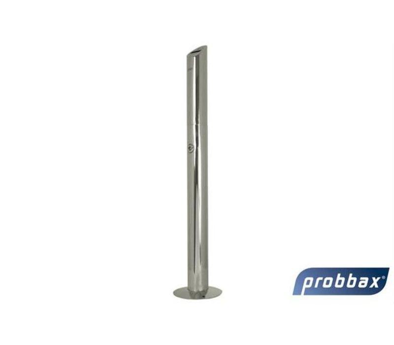 XXLselect Peukenzuil | Gepoetst RVS | 1,4 Liter | Tot 420 Peuken 76x76x(H)920mm