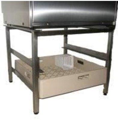 Rhima RVS Boosting stand for Dishwashers Including Storage space 2 Korven | Rhima | 57,5x59,5x46 (H) cm
