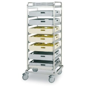 Rhima Baskets trolley BAT-8 | RHIMA | 590x590x1570mm