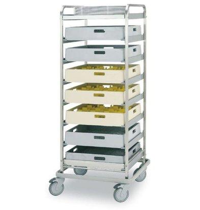 Rhima Baskets trolley BAT-8 | RHIMA | 590x590x1570mm
