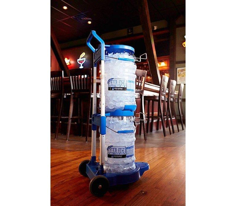 XXLselect Ice bucket trolley   2 Buckets   500x395x900mm