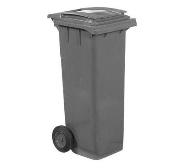 XXLselect Abfallbehälter Felgen- 140 Liter Grau