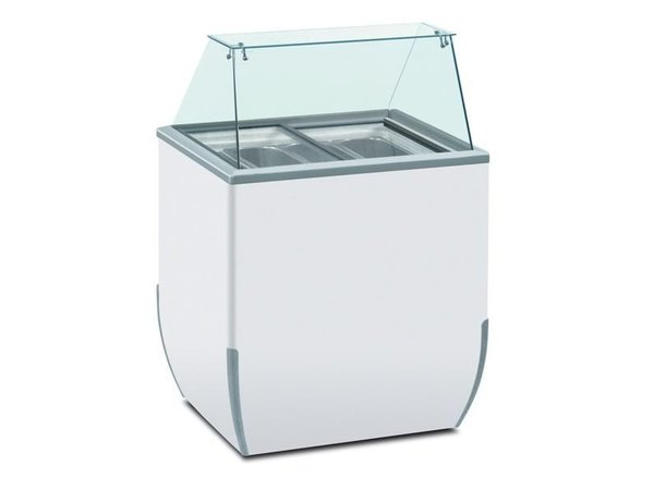 Diamond Dipping Straight Square   Suitable for 4 ice buckets   780x640xh1185mm