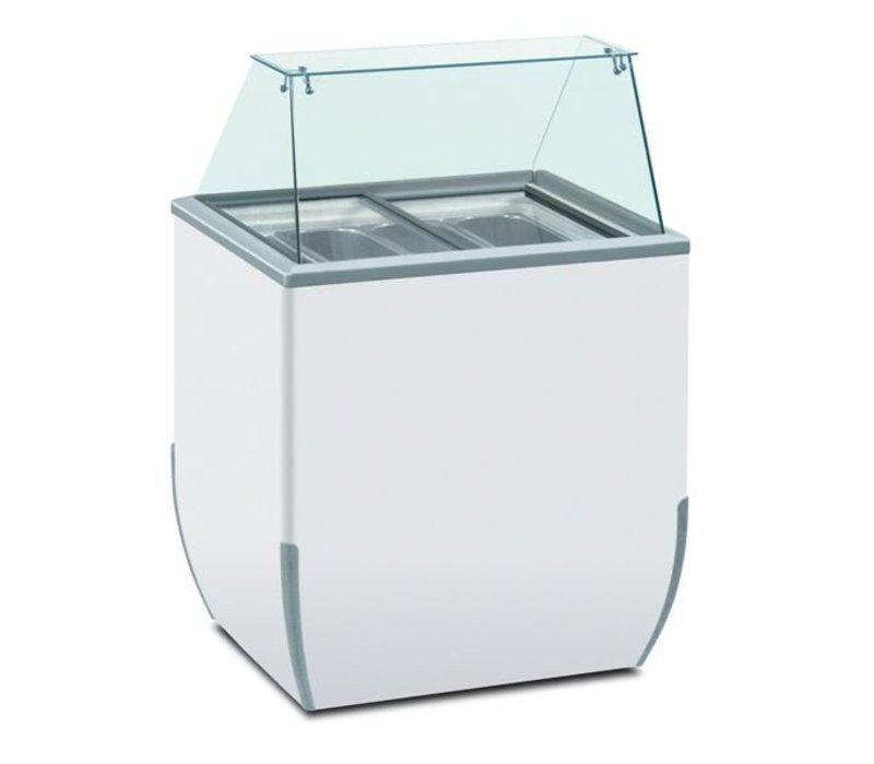 Diamond Dipping Gerade Square | Geeignet für 4 Eiskübel | 780x640xh1185mm