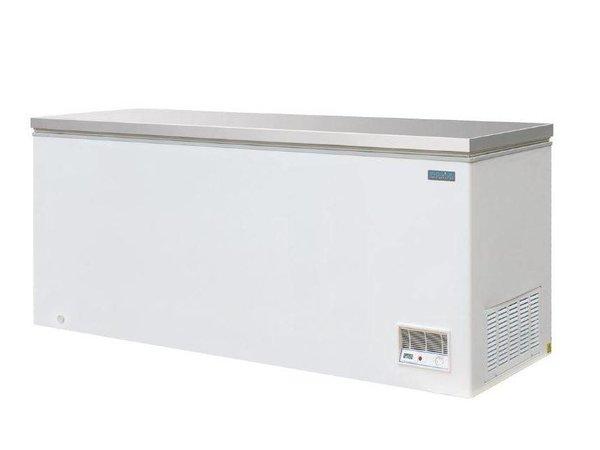 Polar Vrieskist Wit   RVS Deksel   523 Liter   688x1995x845(h)mm