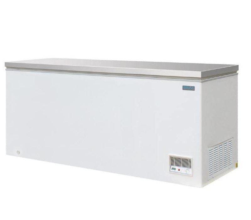 Polar Gefrierschrank Weiß | SS-Abdeckung | 523 Liter |