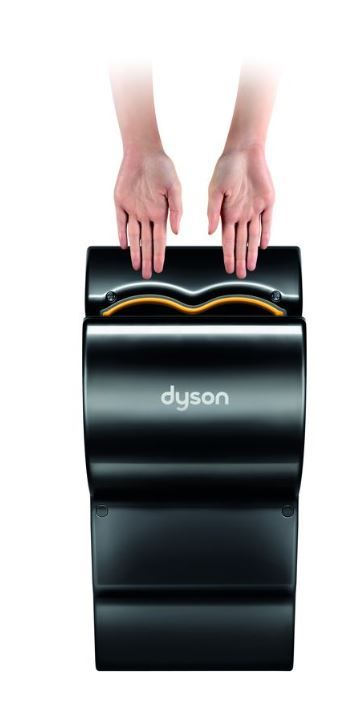 dyson dyson airblade db black ab14 zwart limited edition. Black Bedroom Furniture Sets. Home Design Ideas
