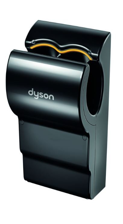 dyson dyson airblade db black ab14 zwart limited edition. Black Bedroom Furniture Sets. Home Design Ideas