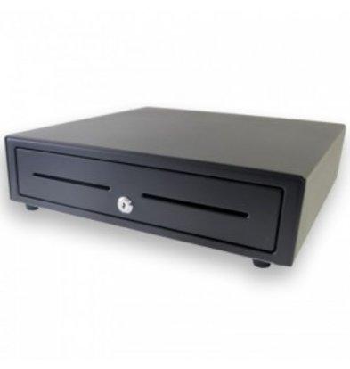 XXLselect Kassalade Fronttouch Zwart | USB-410 | 8 Munt/ 4 Biljet | Afroomgleuf | 410x415x110(h)mm