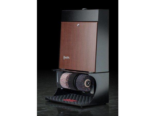 Heute Schoenpoetsmachine Ronda 30   3 Borstels   Staal - Beschikbaar in 7 Kleuren   460(l)x300(d)x790(h)mm