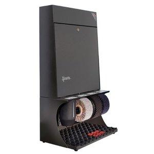 Heute Schuhcreme Ronda 30 | 3 Bürsten | Steel - Erhältlich in 7 Farben | 460 (L) x300 (d) x790 (H) mm