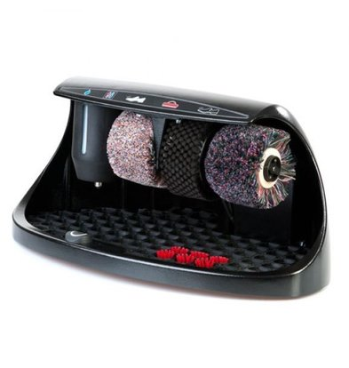 Heute Schuhputzmaschine Cosmo | 3 Bürsten | Aluminium - Erhältlich in 8 Farben | 600 (L) X380 (d) x320 (H) mm