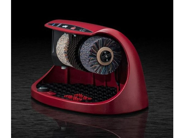 Heute Shoe shine machine Cosmo   3 Brushes   Aluminum - Available in 8 colors   600 (L) X380 (d) x320 (H) mm