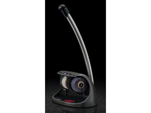 Heute Schoenpoetsmachine Cosmo Plus | 3 Borstels | Aluminium - Beschikbaar in 8 Kleuren | 600(l)x380(d)x950(h)mm