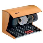 Heute Shoeshine machine Elegance Nature   3 Brushes   Wood - Available in 7 Colors   500 (L) x300 (d) x360 (H) mm