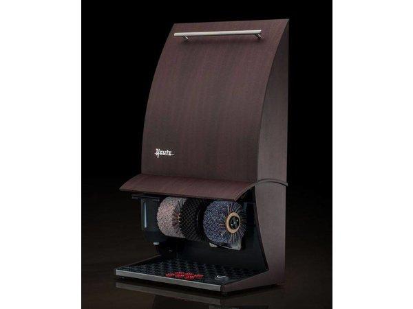 Heute Schoenpoetsmachine Elégance Nature Plus | 3 Borstels | Hout - Beschikbaar in 6 Kleuren | 500(l)x300(d)x860(h)mm