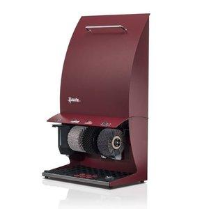 Heute Shoe Polishing Machine Elégance Couleur Plus   3 Brushes   Steel - Available in 6 Colors   500 (L) x300 (d) X860 (H) mm