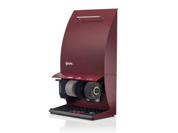 Heute Shoe Polishing Machine Elégance Couleur Plus | 3 Brushes | Steel - Available in 6 Colors | 500 (L) x300 (d) X860 (H) mm
