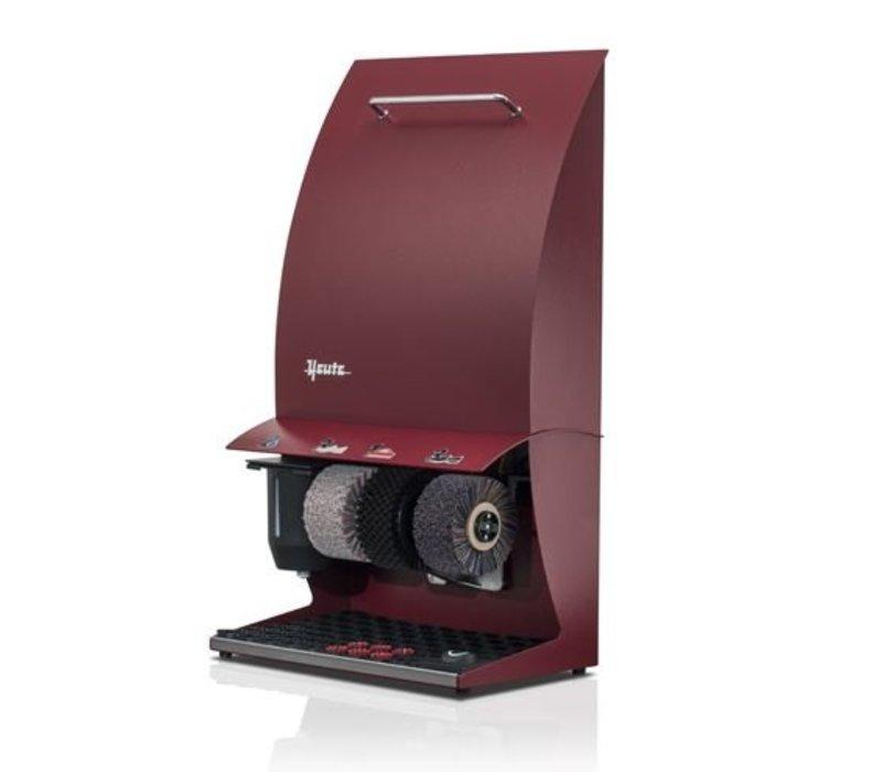 Heute Schuhputzmaschine Elégance Couleur plus | 3 Bürsten | Steel - Erhältlich in 6 Farben | 500 (L) x300 (d) X860 (H) mm