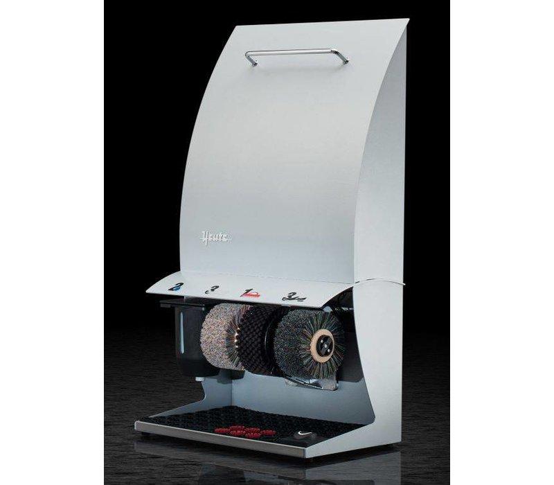 Heute Schoenpoetsmachine Elégance Couleur Plus   3 Borstels   Staal - Beschikbaar in 6 Kleuren   500(l)x300(d)x860(h)mm