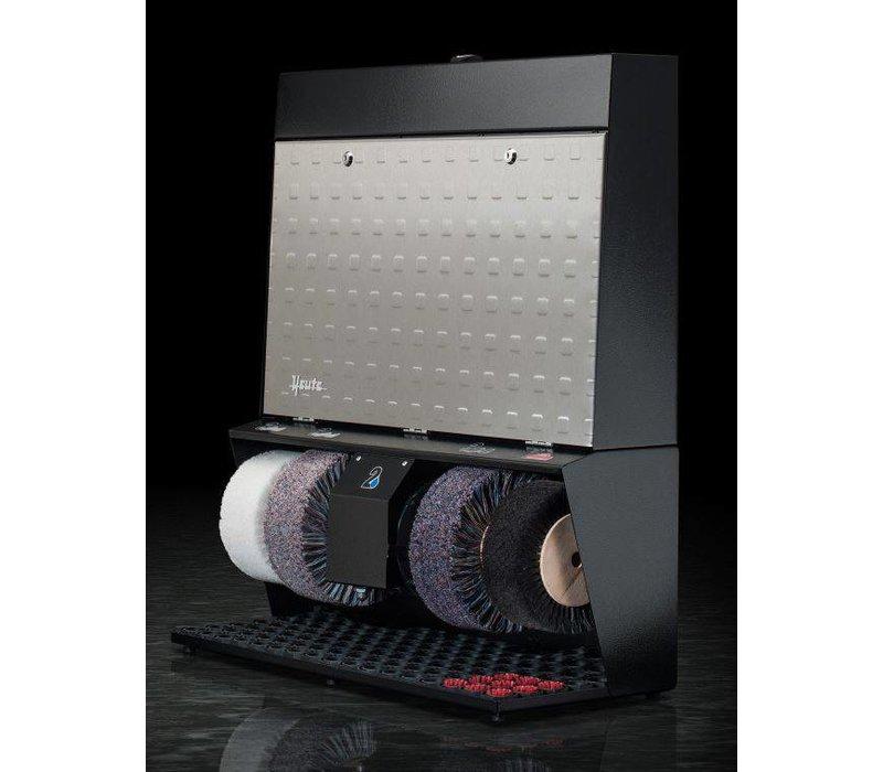 Heute Shoe shine machine Polifix 4 Super | 4 Brushes | Steel - Available in 6 Colors | 720 (L) x320 (d) X860 (H) mm