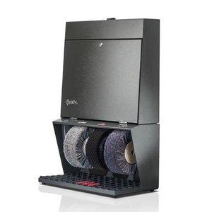 Heute Schoenpoetsmachine Polifix 3 | 3 Borstels | Staal - Beschikbaar in 8 Kleuren | 560(l)x310(d)x850(h)mm