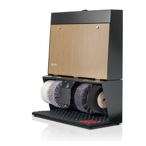 Heute Shoe shine machine Polifix 4 Super | 4 Brushes | Steel - Available in 6 Colors | 720 (L) x320 (d) X860 (H) mm
