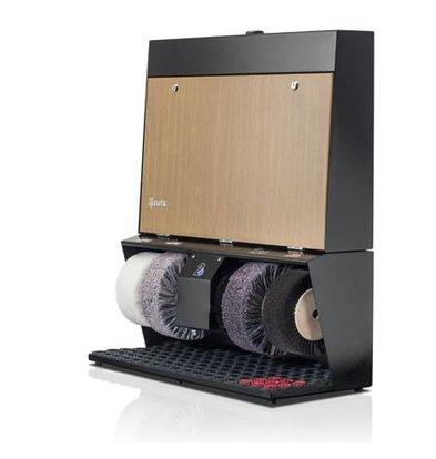 Heute Schuhputzmaschine Polifix 4 Super | 4 Bürsten | Steel - Erhältlich in 6 Farben | 720 (L) x320 (d) X860 (H) mm