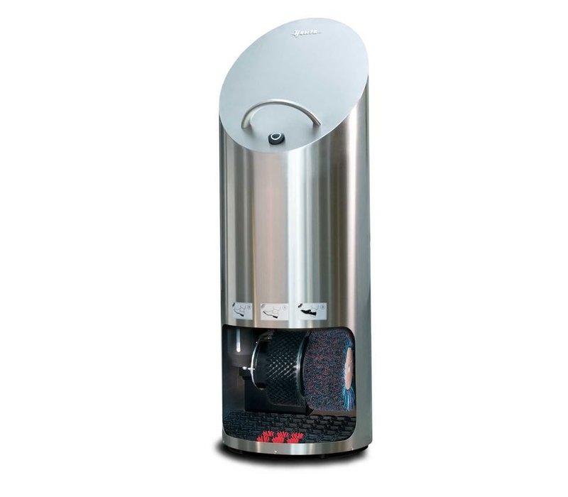 Heute Schoenpoetsmachine Elipse Plus | RVS | 2 Borstels | Ø440x1270(h)mm