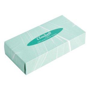 XXLselect Cloudsoft witte tissues voor rechthoekige tissue box 36 stuks