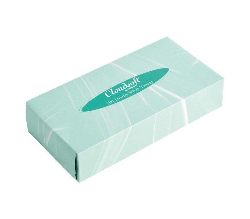 XXLselect Wolke Weiche weiße Gewebe für rechteckigen Tissue Box 36 Stück