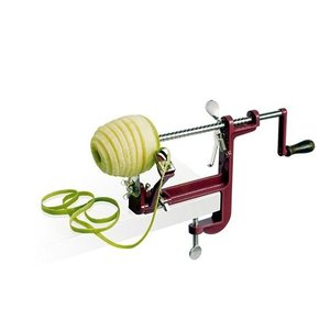 XXLselect Apple peeler with screw terminal