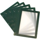 Securit Inserts WOOD Menu - Green A5 - 5 pieces