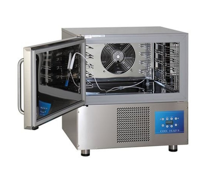CaterCool Blast chiller CaterCool SS | 760x700x (H) 850mm | 5x 1/1 GN