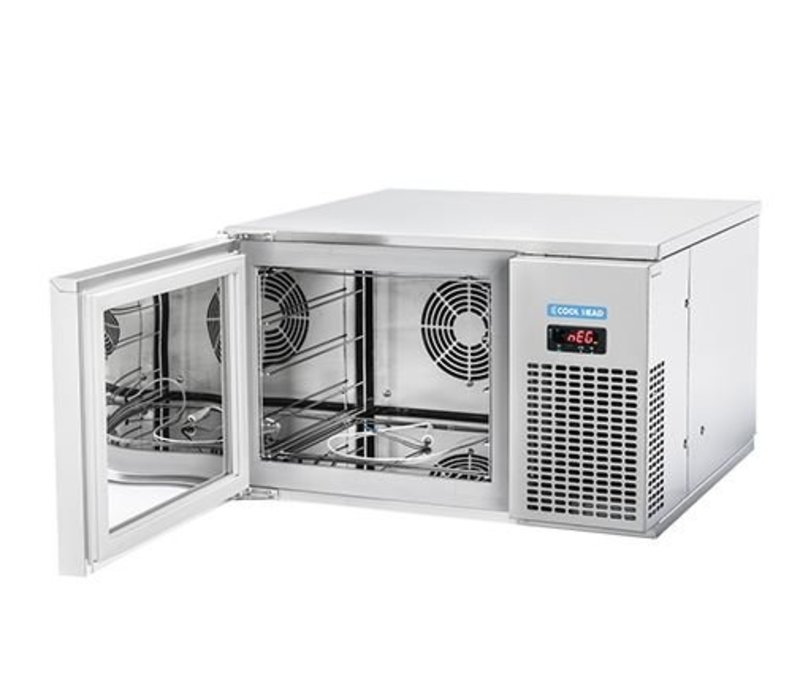 CaterCool Schnellkühler CaterCool SS | 600x610x (H) 370mm | 3x 2/3 GN