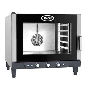 Unox Convection Oven Cheflux Manual   750x770x (H) 770mm   400V   5x 1/1 GN