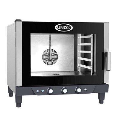 Unox Convectieoven XV393 Cheflux Manual | 750x770x(H)770mm | 400V | 5x 1/1 GN