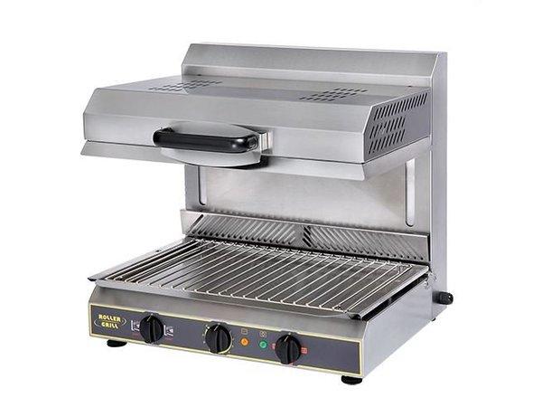 XXLselect Salamander Ceramic SS | Board Detection | 2 Heating Zones | 300Watt | 600x640x (H) 590mm