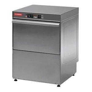 Modular Glazenspoelmachine RVS 18/10 Modular | Automatisch Wascyclus | 3200Watt | 500x420x(H)610mm