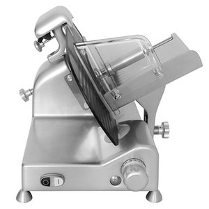 XXLselect Meat Slicer Teflon Coating | Pitched Model | 300Watt | 610x500x (H) 390mm