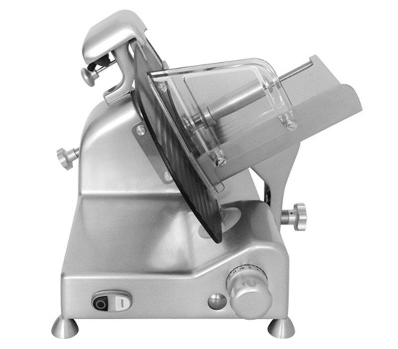 XXLselect Meat Slicer Teflon Beschichtung   Geneigte Modell   300Watt   610x500x (H) 390mm