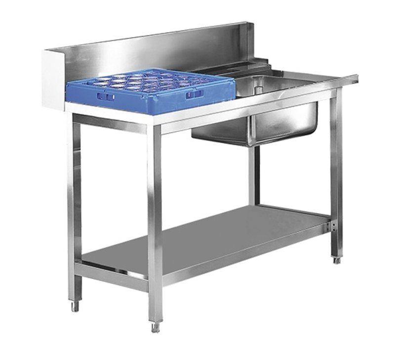 XXLselect Prepurge Table RVS Links | 1200mm