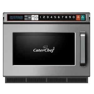 Caterchef Magnetron CaterChef RVS   10 Kookprogramma's   met Usb Aansluiting   17 Liter