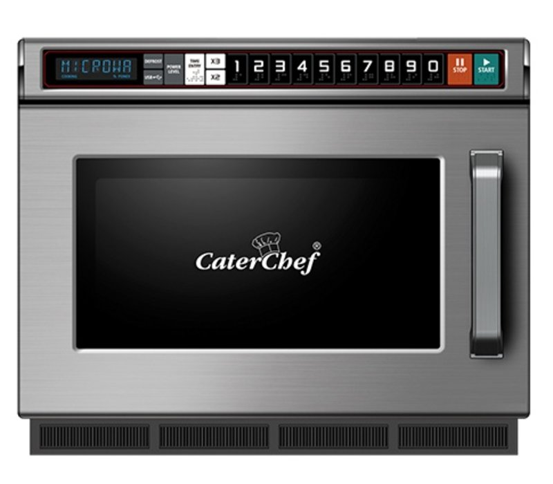 Caterchef Microwave CaterChef SS | 10 Cooking Programs | Usb Connector | 17 liter