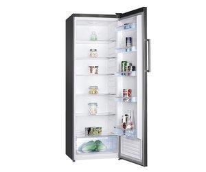 Kühlschrank Xxl Schwarz : Xxlselect hohe stahl kühlschrank led anzeige 600x600x h 1700
