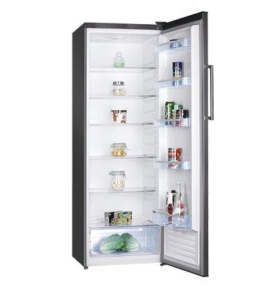 XXLselect Hohe Stahl Kühlschrank | Led-Anzeige | 600x600x (H) 1700 mm | 335 Liter