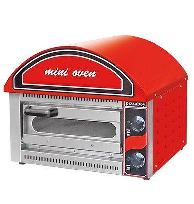 XXLselect Mini Pizza Oven | 50 - 320°C | 2500W | 530x430x(H)540mm