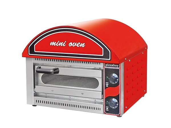XXLselect Mini Pizza oven   50-320 ° C   2500W   530x430x (H) 540mm